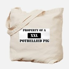 Property of a Potbellied Pig Tote Bag