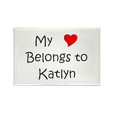 Katlyn Rectangle Magnet (10 pack)