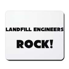 Landfill Engineers ROCK Mousepad