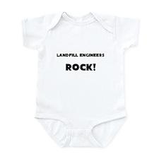 Landfill Engineers ROCK Infant Bodysuit