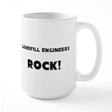 Landfill Engineers ROCK Large Mug