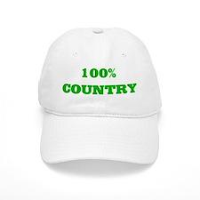 100% Country Baseball Cap