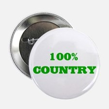 """100% Country 2.25"""" Button"""