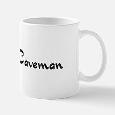 Catfolk Caveman Mug
