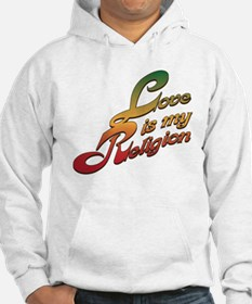 Love is My Religion Jumper Hoody