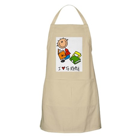 I Love to Read! BBQ Apron