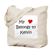 Cute Kelvin Tote Bag