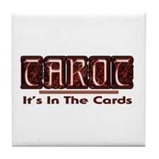 Tarot Cards Tile Coaster