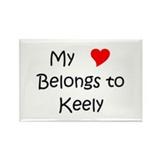 Keely Rectangle Magnet