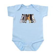 N6 Colors Infant Bodysuit
