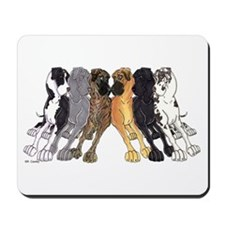 N6 Colors Mousepad