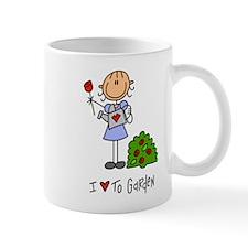 I Love to Garden! Lefty Mug