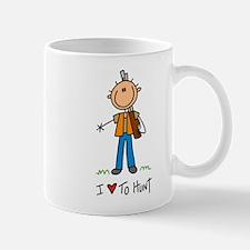 I Love to Hunt! Lefty Mug