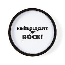 Kinesiologists ROCK Wall Clock