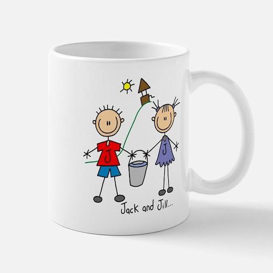 Jack and Jill Lefty Mug