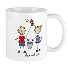Jack and Jill Lefty Mug