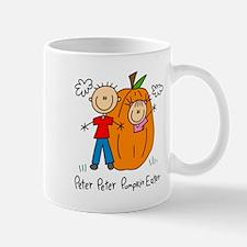 Peter Peter Pumkin Eater Lefty Mug