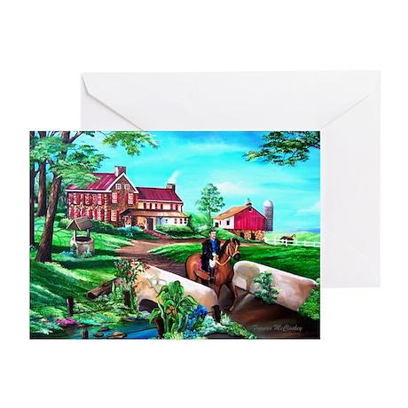 Framed Art Greeting Cards (Pk of 10)