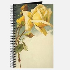 Catherine Klein yellow rose journal