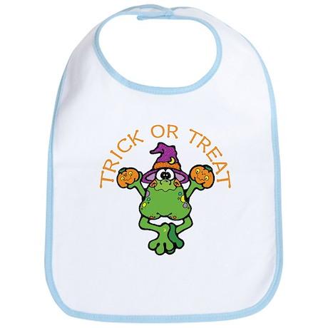 Trick or Treat Frog Bib
