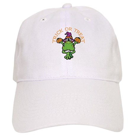Trick or Treat Frog Cap