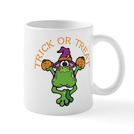 Trick or Treat Frog Mug
