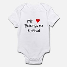 Cool Krystal Infant Bodysuit