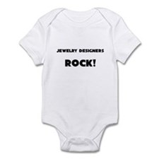 Jewelry Designers ROCK Infant Bodysuit
