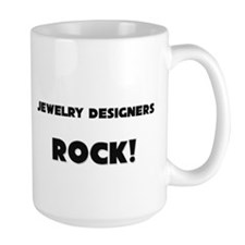 Jewelry Designers ROCK Large Mug