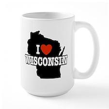 I Love wisconsin Mug