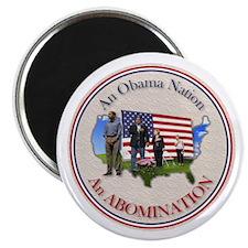 USA OBAMA NATION Magnet