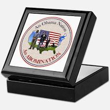 USA OBAMA NATION Keepsake Box