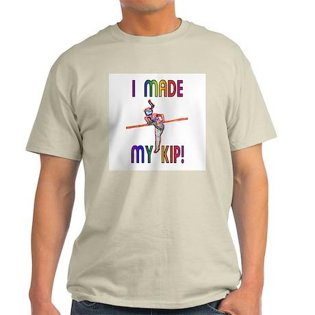 I Made My Kip Ash Grey T-Shirt