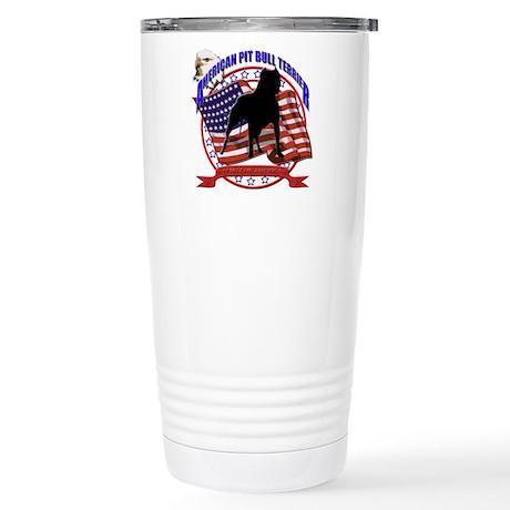 pit bull spirit Stainless Steel Travel Mug