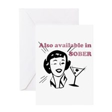 Also Available in Sober Greeting Card