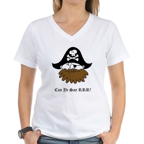 Pirate SLPs Women's V-Neck T-Shirt