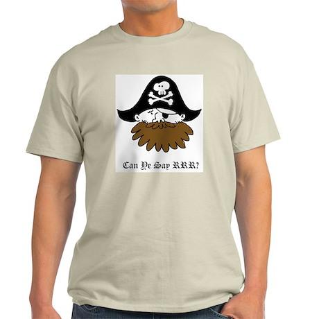 Pirate SLPs Light T-Shirt