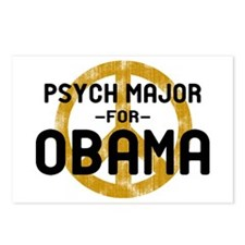 Psych Major for Obama Postcards (Package of 8)