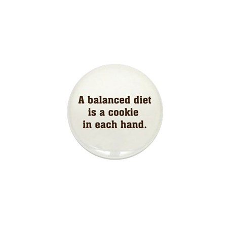 Balanced Diet Mini Button