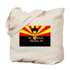 Obama He Rocks Tote Bag