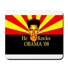 Obama He Rocks Mousepad