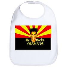 Obama He Rocks Bib