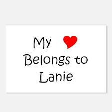 My heart belongs to a nurse Postcards (Package of 8)