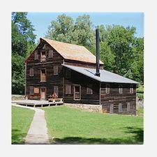 Pine Creek Grits Mill, Tile Coaster