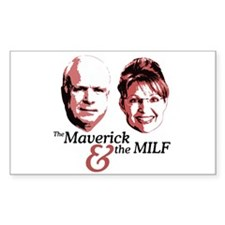 Maverick & the MILF Rectangle Decal