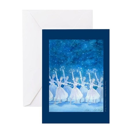 Dance of the Snowflakes/Dance Quote Greeting Card
