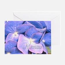 Memaw Hydrangea Greeting Card