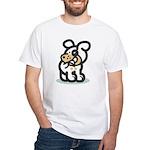 Dog biting his tail T-shirt!