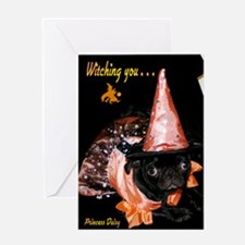 Witchy Princess Daisy Greeting Card