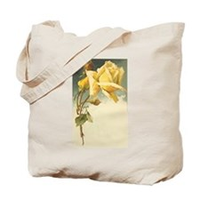 Catherine Klein Red & Yellow Rose tote